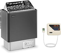 Uniprodo Kit Poêle Pour Sauna 6kw Chauffage Électrique À Sauna Et Unité Tableau Boitier Système De Commande UNI_SAUNA_G6.0...
