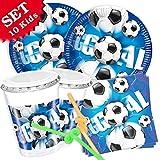 Kit de décoration de football anniversaire, 50 pièces pour enfants de anniversaire...