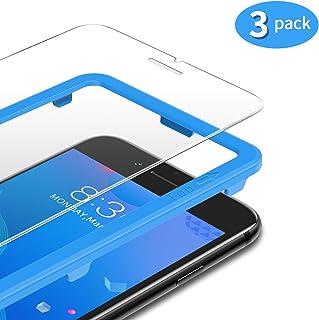 TAMOWA [3-pack skärmskydd för iPhone 8 Plus/iPhone 7 Plus/6S Plus/6 Plus, 2,5D premium härdat glas 9H skottsäker film med ...