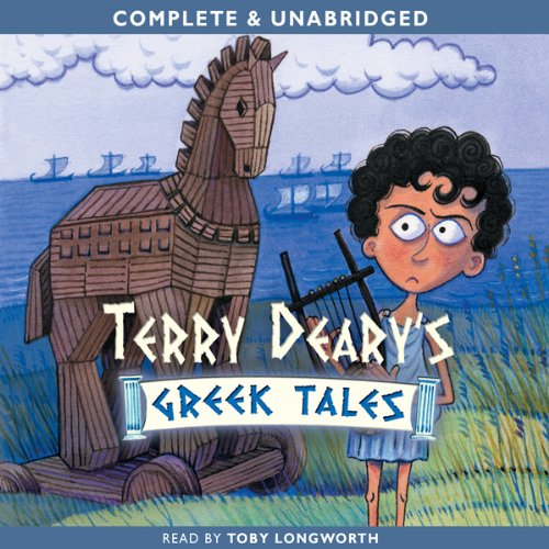 Terry Deary's Greek Tales cover art