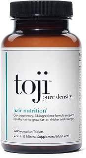 Toji: Pure Density Hair Vitamin (30 Day Supply)