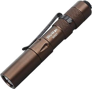 "Wurkkos Portable Super Mini LED Pen Light Flashlight, 3.3"" Small EDC 150 Lumens Penlight for Inspection, Repair, Camping. ..."