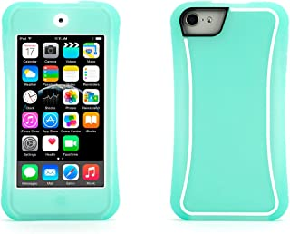 Griffin Survivor Slim iPod Touch (5th & 6th gen) Case with Tough and Impact Resistant Design, Green/White