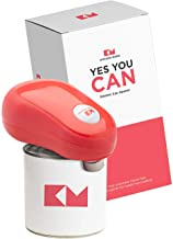 Kitchen Mama One Touch Electric Can Opener: Open Your Cans with A Simple Push of Button..