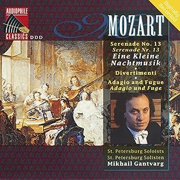Mozart: Eine kleine Nachtmusik - DIvertimenti - Adagio and Fugue