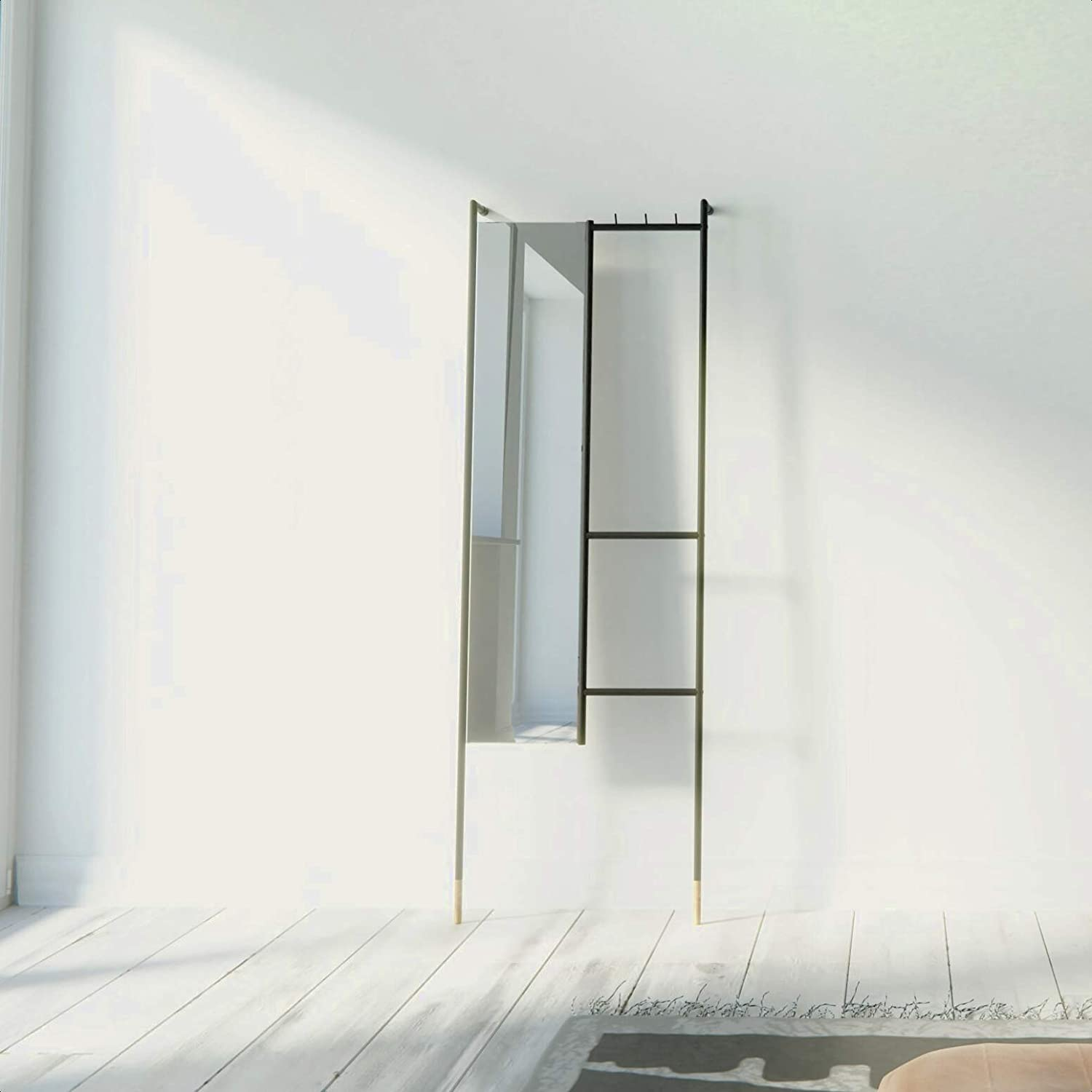 Modern 55% OFF Full Length Mirror Safe Superior Installation Max 86% OFF Co Easy