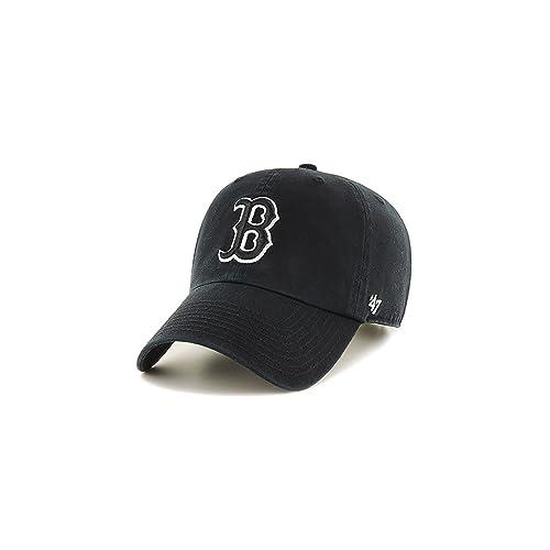 063b1f915c2 47 Brand MLB Boston Red Sox Clean Up Cap - Black
