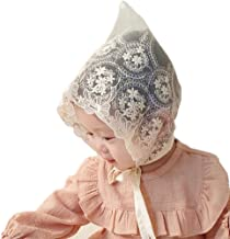 Baby Little Kids Toddlers Breathable Lacy Bonnet Eyelet Cotton Adjustable Sun Protection Hat
