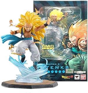 No Bandai Figuarts Zero Tamashii Dragon Ball Z Fils Goten Trunks Gotanks Super Saiyan Figurine Poupée Anime Figure Anime F...