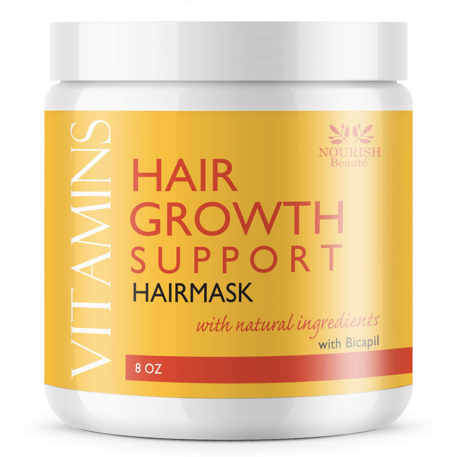 Nourish Beaute Vitamins New mail order Hair Mask Loss Ranking TOP18 for Deep Conditi and