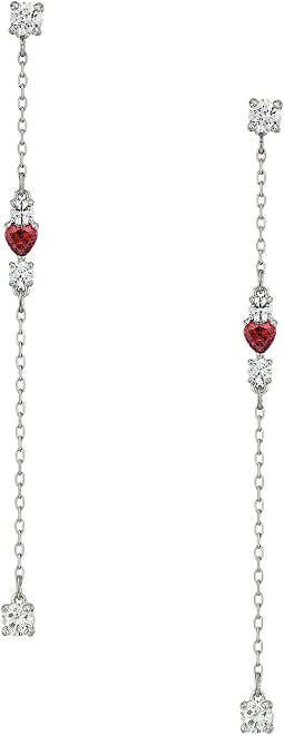 Swarovski - Love Pierced Earrings