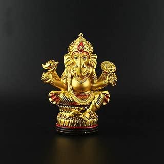 AGONG Geneisha, Buddha Figure, Tantric Statues, India Elephant God Statue, Resin Ganesh Figurine