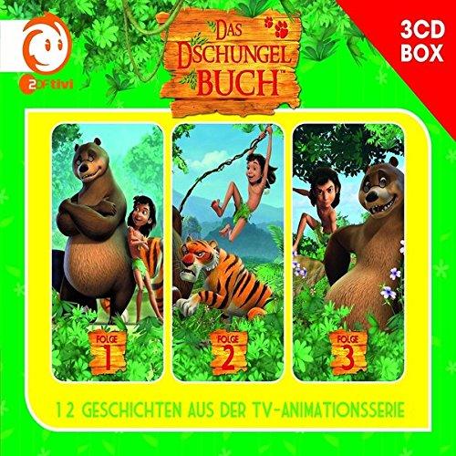 Das Dschungelbuch-3-CD Hrspielbox Vol.1