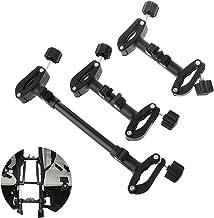 Yanhonin - Conector universal para cochecito de bebé, 3 unidades, conector, conexión de junta de longitud ajustable, adaptador de conexión para cochecito doble bebé