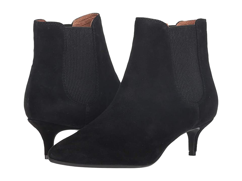 Sudini Beatrice (Black Suede Leather) Women