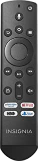 Insignia NS-RCFNA-19 Fire TV Voice-Activated Remote Control OEM for Insignia & Toshiba Fire TV Edition Televisions (Renewed)