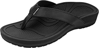 Everhealth Orthotic Sandals Stylish Thong Flip Flops Women Ultra Comfort Slippers with Arch Support for Plantar Fasciitis,...