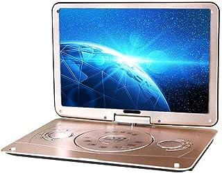 Draagbare Dvd 18 Inch 3D Draagbare EVD-Speler Ultradunne High-Definition Display Ingebouwde Batterij, Afstandsbediening En...