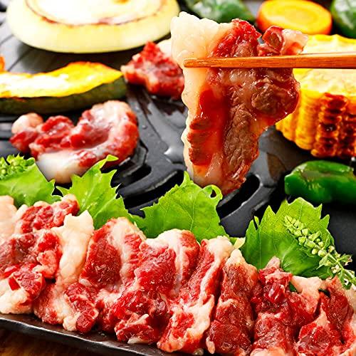 特上 馬カルビ 焼肉 馬刺し 高級 ブロック BBQ バーベキュー 焼き肉 馬肉 熊本馬刺しドットコム… (1kg (100g×10パック))