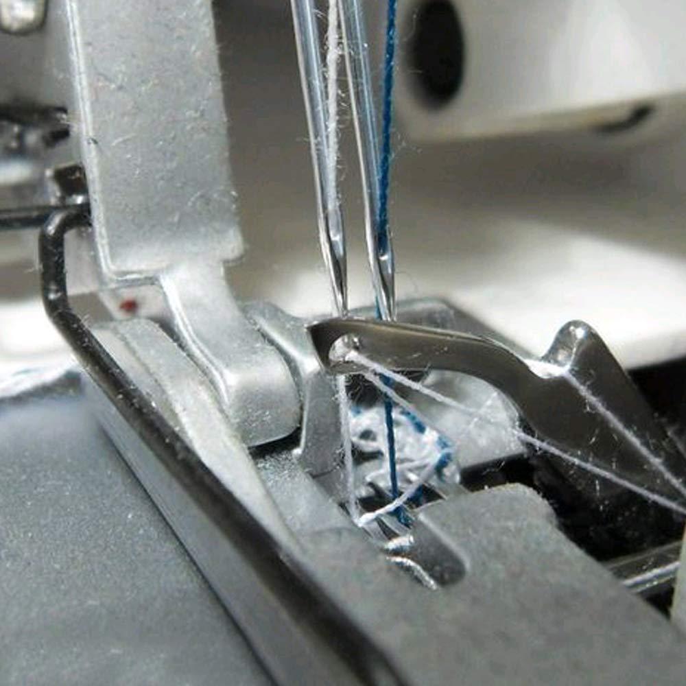KINDPMA 100 pcs Agujas para Máquina de Coser 5 tamaño Aguja de ...