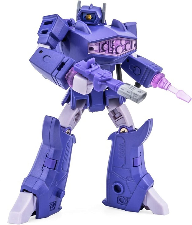 JINSP Deformation Action Figure Transformers Import Def Shock Toy Credence Wave