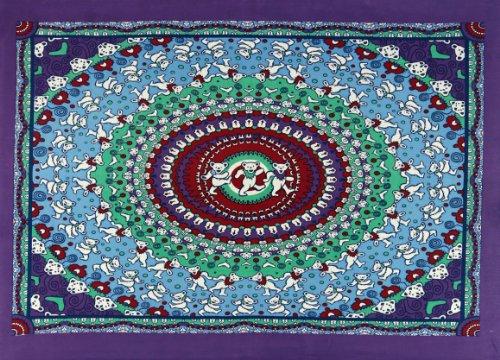 Grateful Dead Dancing Bears Tapestry