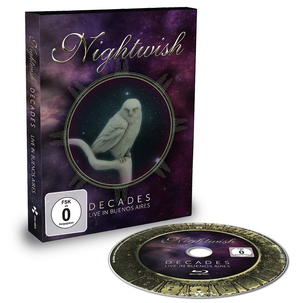 Nightwish Decades - Daily bargain sale trust Live Aires Buenos in Blu-ray