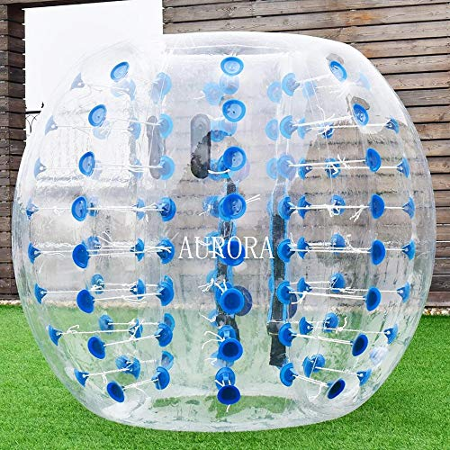 Aurora Sports Toddlers Outdoor Game Zorb Ball Inflatable Bumper Ball 4ft Human Knocker Bubble Soccer Balls