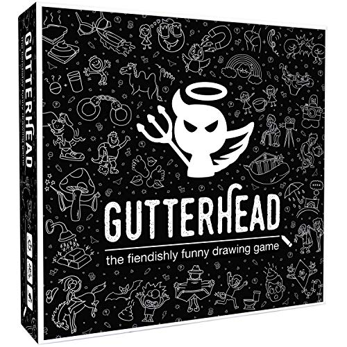 Gutterhead - The Adult Board Game of Hilariously Twisted Doodles [Party Game for Adults. Playable over Video Chat]