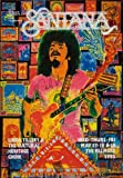 CLASSIC POSTERS Santana Signed American Concert