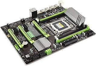 Bewinner Placa Base de Escritorio, Tarjeta de Red Gigabit Interfaz USB 3.0 Placa Base de Escritorio con procesador para Intel B85/H81 Series, Xeon/I7 Series CPU Placa Base de Escritorio