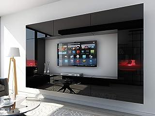 comprar comparacion HomeDirectLTD Future 29, Conjunto de Muebles De Salón, Módulo Bajo para TV Y Multimedia, Unidad de Entretenimiento, Mueble...