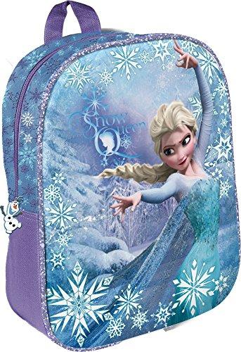 Star Licensing Disney Frozen Zainetto Medio per Bambini con Stampa Stellata, 32 cm, Multicolore