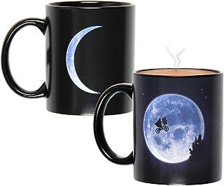 E.T The Extra-Terrestrial Moon Scene Heat Color Change Reactive Ceramic Coffee Mug