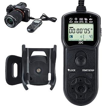 YouPro Wireless Fernbedienung LCD Timer Auslöser für Sony a7 a7R a7S a7-Kamera