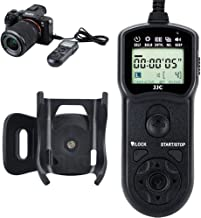Wired Timer Remote Shutter Release Control & Clip Holder for Sony A6600 A6100 A7RIV A7RIII A7RII A7III A7II RX100 VII VI VA V IV III II A6400 A6000 A6300 A6500 A7SII RX10 III II A99II Replace RM-SPR1