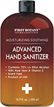 70% Alcohol Disposable Hand sanitizing Gel 500ml, No Water Required, Long-lasting Quick Drying Liquid Hand Gel (Packaging ...