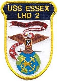 Squadron Nostalgia LLC USS Essex LHD-2 Patch – Plastic Backing