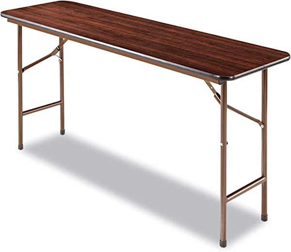 Alera Folding Rectangular Table 60 By 18 By 29 Inch