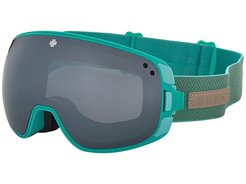 593d63f516 Spy Optic Bravo (Herringbone Mint Happy Gray Green w  Silver Spectra+Happy  Yellow