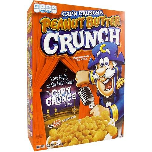 Cap'n Crunch Peanut Butter 12.5 OZ (355g)