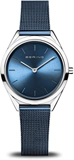 BERING Unisex Analogue Quartz Watch with Stainless Steel Strap 17031-307