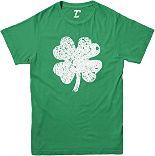 Distressed Four Leaf Clover - Luck Irish Youth T-Shirt