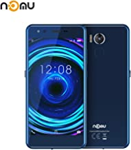 Moviles Resistentes, IP68 Impermeable Smartphone Libres Nomu M8 IP68/IP 69K, Telefono Movil Antigolpes Libres 4GB RAM + 64GB ROM, 21.0MP+21.0MP+Dual Color Flash (Azul)