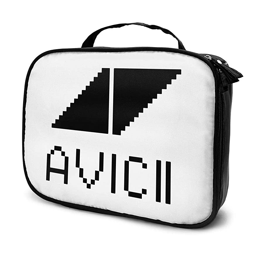 害虫出口センブランスJoycego Avicii アヴィーチー 化粧ポーチ コンパクト 大容量 機能的 かわいい 収納 おしゃれ 人気 出張ハンドバッグ 小物包み 男女兼用