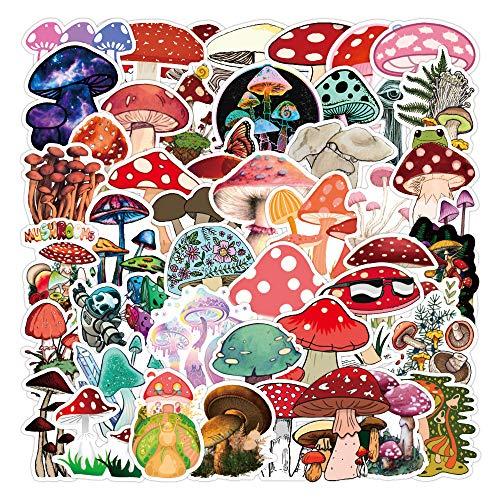YZFCL Etiqueta engomada de la Maleta de la Seta Personalidad de Dibujos Animados Lindo Decorativo Pared Taza de Agua Etiqueta de la Caja del teléfono Celular Impermeable 50 Hojas