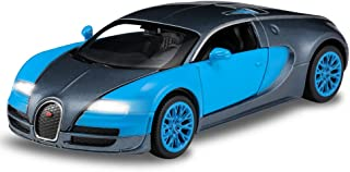 haomsj Bugatti Veyron 1:32 Alloy Diecast car Model Collection Light&Sound Red with Color Packaging ,Toys for Kids & Child