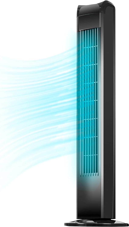 通信販売 今ダケ送料無料 Uthfy Oscillating Tower Fan with Standing Remote Electric