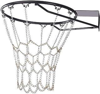 YGHH Rete da Basket per Esterno, Rete da Basket Durevole, Rete da Basket, Standard Resistente Rete da Basket in Metallo Ut...
