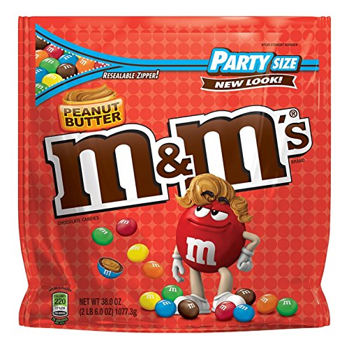 M&M's (New-Party Size) (ピーナッツバター) [並行輸入品]